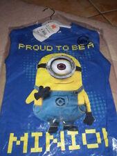 Disney Cotton Unisex Tops & T-Shirts for Children