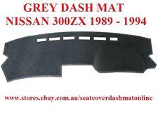 DASH MAT, DASHMAT, DASHBOARD COVER,FIT NISSAN 300ZX 89-94,  GREY