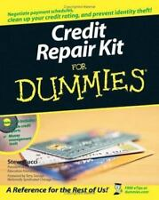 Credit Repair Kit For Dummies by S. Bucci, PDF, E-Book, Free Shipping