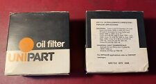 2x NOS UNIPART OIL Filters Vauxhall Cresta Velox Victor F Bedford CA GFE112 AC90