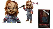 """Child's Play Scarred Chucky Talking 15"""" Doll Mezco - Official"""