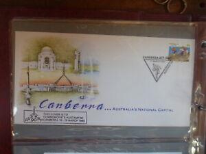 AUSTRALIA 1990 AUSTAMP '90 CANBERRA BASKETBALL P/M SOUVENIR COVER