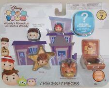 Disney Tsum Tsum Vinyl Mini Figure Gift Set - Woody's Round Up