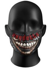Vendetta Inc Maske Two Face schwarz Gesichtsmaske,Waschbar Frauen, Männer NEW