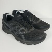 ASICS Gel-Excite 4 Mens Athletic Running Cross Training Black T6E3N Size 10.5