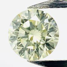 0.37ct X Light Yellow SI1 Diamant Brilliantschliff