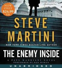 THE ENEMY INSIDE unabridged audio CD - STEVE MARTINI (11 CDs/12 Hours) Brand New