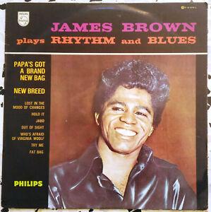 James Brown – James Brown Plays Rhythm And Blues – P 14.575 L Vinyl, LP 1966