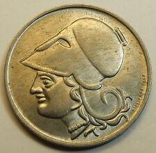Greece Greek Democracy 2 drachma 1926 UNC  BU !!!
