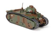 EAGLEMOSS 1/72 CV026 World War Two FRENCH CHAR B1 HEAVY TANK