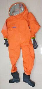 Drager XL-46/47 Team Master Pro ET Chemical Hazmat Gastight Reusable Protective