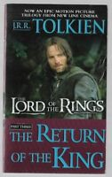 THE LORD OF THE RINGS Part 3 RETURN OF THE KING Movie Cover by J.R.R. Tolkien