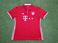 FC Bayern München Trikot XL 2016 2017 Adidas Shirt Jersey Munich T com