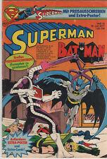 Superman Batman - Ehapa - Heft 15 - 1977 mit Gutschein