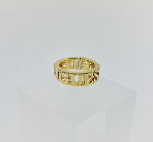 Guess Ring Damen Damenring Gold Schick Größe 56 NEU OVP Modeschmuck Buchstaben