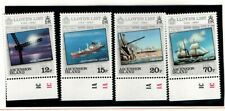 Ascension 1984 Lloyd's List Ships SG359-62 MNH with tabs