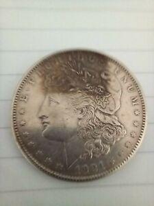 1921 MORGAN  AMERICAN  DOLLAR  LETTER S
