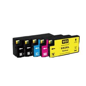 5PK (Set+K)  Ink Cartridge  For HP 952XL 952 OfficeJet Pro 8734 8735 8736