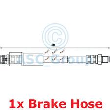 Apec BRAKING 335mm Scheibe Bremssattel Flexibel Gummischlauch Hos3765