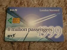 BT CHIP PHONECARD LONDON STANSTED £1 MINT UNUSED