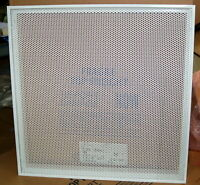 (2) Titus Steel Perforated Ceiling Diffuser / Return/Flush Face 22X22 for 24x24