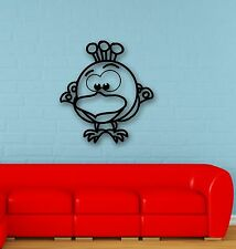 Wall Stickers Vinyl Decal Funny Bird for Children's Baby Room Nursery (ig630)