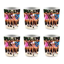 Custom 6 Shot Glass Full Wrap Sublimation Groomsman Bridesmaids Custom Gift