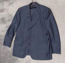 Mens fine solid black suit by Yves Saint Laurent 46T