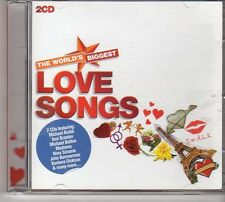 (FD311B) The World's Biggest Love Songs, 36 tracks various artists - 2CDS - 2011
