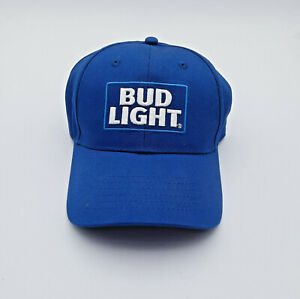 NEW BudLight Blue Baseball Cap (St Louis Brewery, embroidered patch)