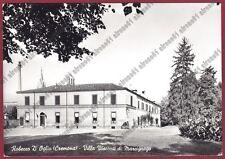 CREMONA ROBECCO D'OGLIO 01 VILLA VISCONTI Cartolina viaggiata 1960 REAL PHOTO