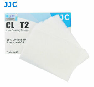 10 Pcs JJC Soft Cleaning Tissue for Camera Lens,Filters,Eyegalss (50 Sheets/Pcs)