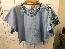 Vintage Otomix Body Building Shirt Size 2XL USA Made Crop Top Weight Lifting Gym