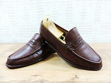 Church's Men's Brown sondro Leather Penny Loafers-UK 6.5 F US 7.5 F EU 40.5