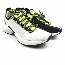 Reebok Sole Fury DV4482 White/Black/Neon Red/Lime Running Shoes Mens 8 NWOB