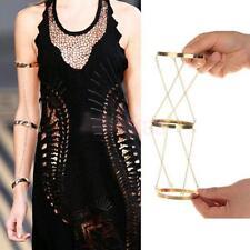 Gold Arm Slave Harness Chain Upper Cuff Armband Armlet Bracelet Bangle Women