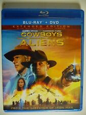 NEW/SEALED - Cowboys & Aliens (Blu-ray/DVD, 2011, Extended Edition