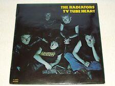 THE RADIATORS LP TV TUBE HEART VERY RARE SPANISH ORIGINAL ISSUE