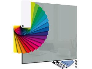 Glas Magnet Wand Tafel Whiteboard Memoboard  verschiedene Maßen und Farben
