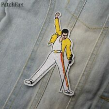 Freddie Mercury Enamel Queen Pin Badge Brooch Rock Metal Pins Clothes Patch NEW
