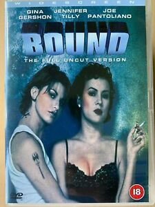 Bound DVD 1996 Erotic Film Noir Gangster Thriller LGBT Gay Lesbian Classic