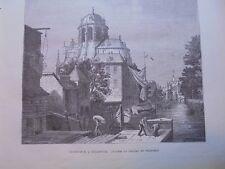 1872 Stich 1 / Onze-Lieve-Vrouw van Hanswijk Mechelen Kirche