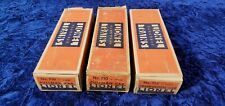 1930s Lionel 710, 710 712 two tone blue passenger cars boxes from 241E set