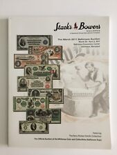STACK'S BOWERS AUCTION CATALOG US BANKNOTES T B SMITH COLLECTION 2011 BALTIMORE