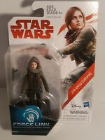 Star Wars Rogue One Force Link Jyn Erso (Jedha) 3 3/4 Last Jedi BRAND NEW