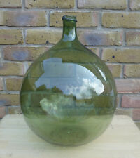Vintage French Demijohn Bottle Antique Glass Jar Carboy Decoration KDJ162