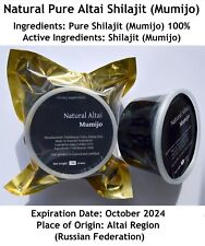 Altai Shilajit Resin 1.1Lb (500Grams) Pure Mumijo EXPRESS DELIVERY (1-2 WEEKS)