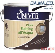 FLATTING ALL'ACQUA UNIVER L'ARCA VERNICE INCOLORE LUCIDA PER LEGNO 0,75 LITRI