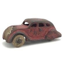 Vintage Arcade Cast Iron #146 Toy Car With Rubber Tires