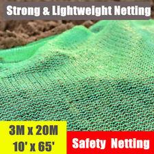 20m x 3m Green Garden Plant Fine Mesh Bird Protective Netting Weed Pest Control